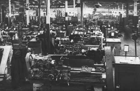 Mechanical manufactory in 1930